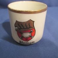 Címeres porcelán csésze   A075