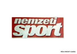 2011 október 28  /  nemzeti SPORT  /  RÉGI EREDETI MAGYAR ÚJSÁG Szs.:  2351