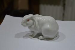 Porcelán nyúl figura