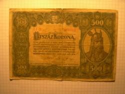 Ritka 500 Korona 1920 !!