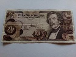 1967-es 20 Schilling