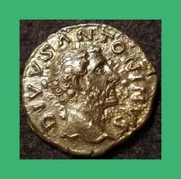 Római Antoninus  Pius 138-161 Consecratio   Ag ezüst dénár