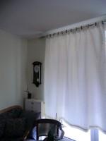 Selyem függöny húzott 170 széles 180 hosszú