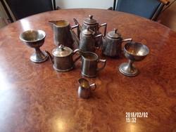 Gyűjtőknek - ezüstözött alpakka (9 db)