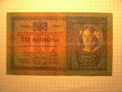 Ritka 10 Korona 1904!!