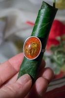 Retro virágos gyűrű
