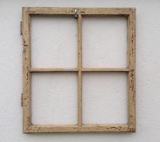 Régi ablakszárny vintage dekoráció ablak