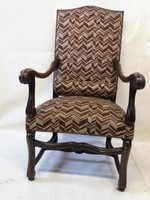 Antik karos fotel