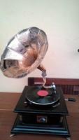 Tölcséres gramofon IV.