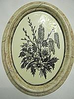 Josefine Allmayer porcelán kép