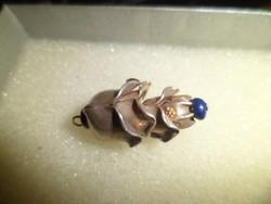 Ezüst medál / lazuli