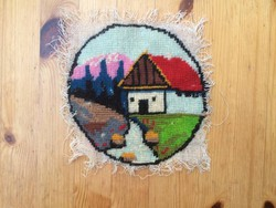 Kis házikó, gobelin kép