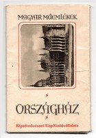 Magyar Műemlékek Országház képeslap Kádár János aláírással 1961