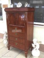 Antik bútor, Biedermeier szekreter, szekrény felújított.