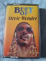 Stevie Wonder- Best Of magnókazetta Új