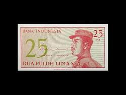 UNC - 25 LIMA SEN - INDONÉZIA