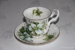 Royal Albert Trillium kávés csésze alátéttel