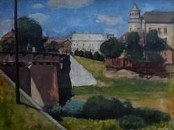 Chiovini Ferencz (1899-1981): Szolnoki Zagyva-híd