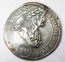 Lipót XV krajcár 1694 KB