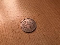 1899 ezüst 1 korona szép db