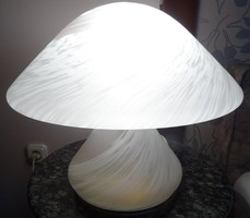 Murano fungus lamp is 30 cm high from the 30's