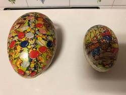 Retro papírmasé húsvéti tojások eladóak