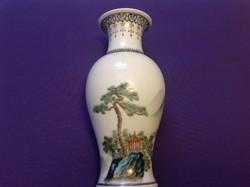 Kínai tájképes váza