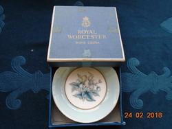 Royal Worcester-Woodland-dísztálka dobozában-10x2 cm