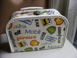Retro gyermek  játék koffer bőrönd