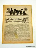 1932 február 4  /  NYÍL  /  RÉGI EREDETI MAGYAR ÚJSÁG Szs.:  3951