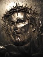 Domenico Chiarolanza : Gesù Cristo con la corona di spine, ezüst