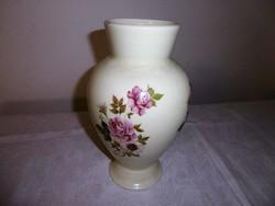 Ritka zsolnay Rózsás váza 28cm