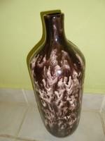 Hatalmas méretű Bod Éva jelzett kerámia váza