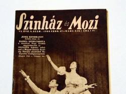 1953 február 27 március 5  /  SZÍNHÁZ ÉS MOZI  /  RÉGI EREDETI ÚJSÁG Ssz.: 1336