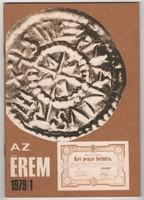 Az Érem 1979/1 - numizmatikai folyóirat