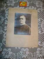 Régi Brenner- Szeged fotó - 1928 - hátoldalán kézzel írott szöveg