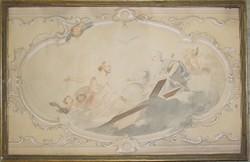 Márton Lajos (1891-1953): Freskótanulmány, 1942