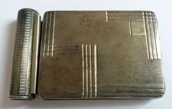 Különleges Ezüst púderes doboz szelence rúzstartóval