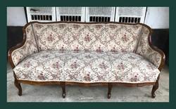 Neobarokk kanapé,szófa,garnitúra része