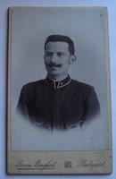 Katonai fénykép az I. VH. idejéből