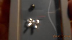 2 db /  Titanium  Plated Piercing Új!