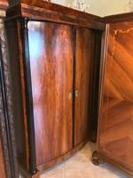 Biedermeier Antik 2 ajtós szekrény