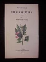 Kubinyi Ágoston:Mérges növények
