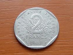 FRANCIA 2 FRANK FRANCS 1981