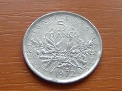 FRANCIA 5 FRANK FRANCS 1972