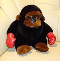 Bokszkesztyűs plüss gorilla kölyök ( majom )