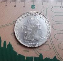 SZÉP USA LIBERTY DOLLAR 1799