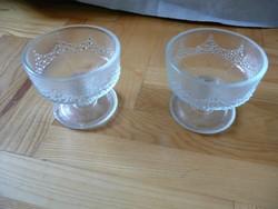 Üveg fagylaltos kehely, üveg fagyis kehely