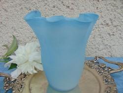 Régi kék üvegváza