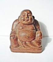 Buddha szobor faragott fa